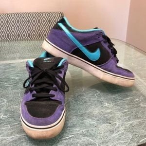 Nike SB Dunk Low Purple and Turquoise